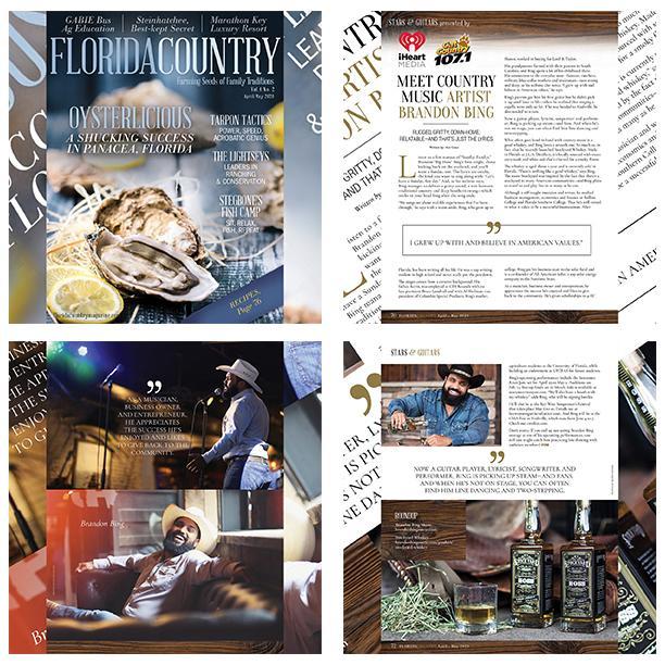 Florida Country Magazine Commemorative Coasters