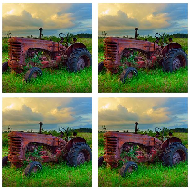 Old Tractor 200